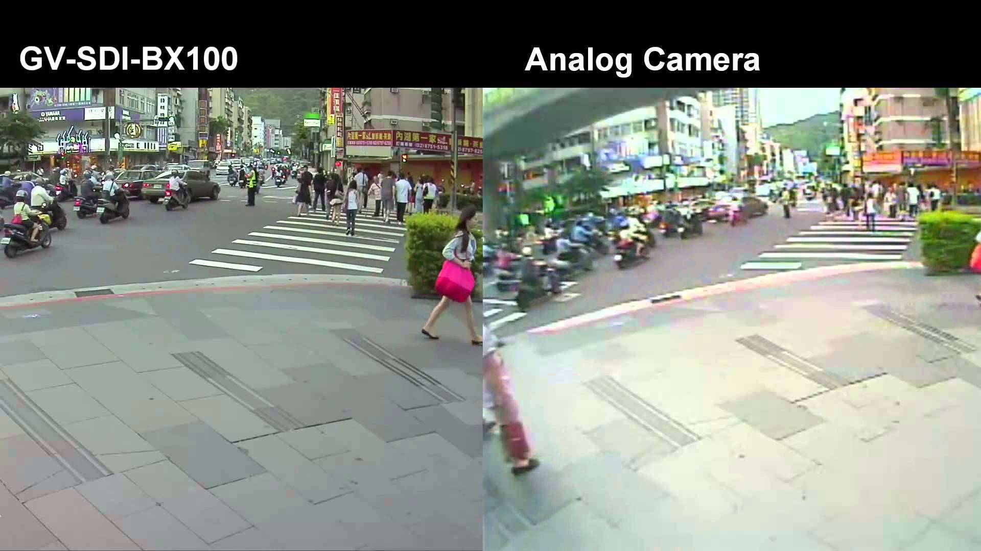 HD SDI vs analog recording quality comparison 1